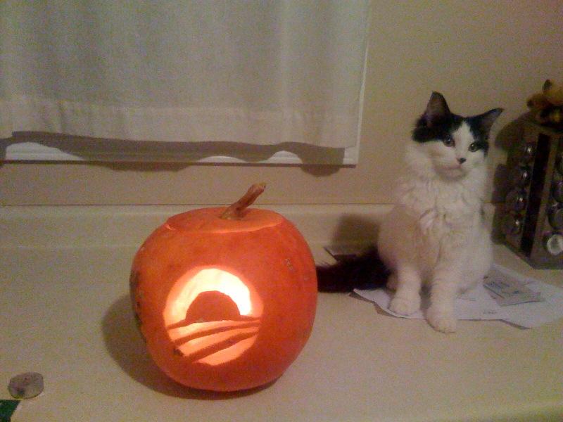 Obama Pumpkin 1